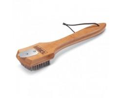 Щетка для гриля с бамбуковой ручкой 30 см