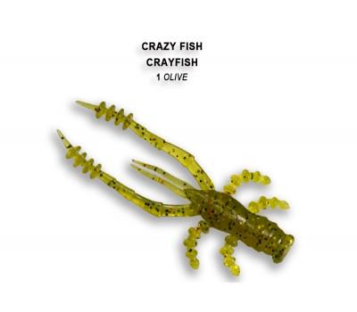Силиконовая приманка Crazy Fish CRAYFISH 26-45-1-6