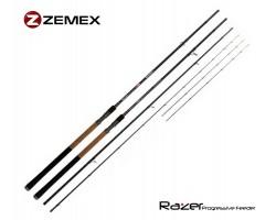 Удилище фидерное ZEMEX RAZER Progressive Feeder 13 ft - 110 g