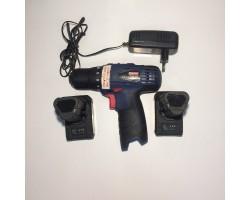 Дрель ручная электрическая аккумуляторная,18В.,18 ступ.,38 Нм.,Li-ion ,2Ач.,0-400/0-1400об/мин.