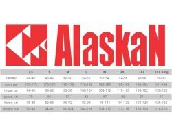 Костюм зимний Alaskan Anchorage черный/серый/синий       S