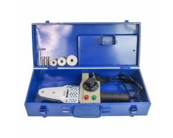 Аппарат для ручной раструбной(муфтовой) сварки пластиковых труб 1500 Вт., 220-230В/50Гц., 20.25.32мм., 3 насадки