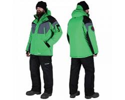 Костюм зимний Alaskan Dakota зеленый/черный        XS (куртка+полукомбинезон)