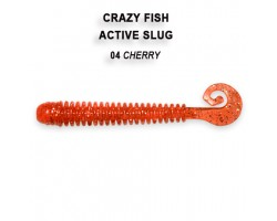 Силиконовая приманка Crazy Fish ACTIVE SLUG 2-7.1-4-1