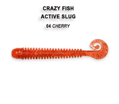 Силиконовая приманка Crazy Fish ACTIVE SLUG 2-7.1-4-1