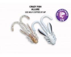 """Силиконовая приманка Crazy Fish ALLURE 1,1""""  46-27-22d-6"""