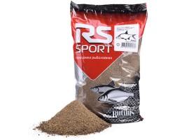 """Прикормка рыболовная RUTILUS """"RS"""" """"Лещ спорт черный""""1 кг"""