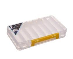 Коробка пластиковая двухсторонняя 19.5x12.3x3.6см
