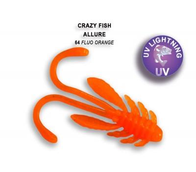 Силиконовая приманка Crazy Fish ALLURE 1,6  23-40-64-6