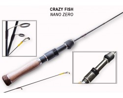 Спиннинг Crazy Fish Nano тест 0.2-1.5гр 1.72м