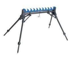 Гребенка на 10 удилищ на 4 телескопических ножках