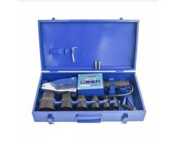 Аппарат для ручной раструбной(муфтовой) сварки пластиковых труб, 2300 Вт, 220-230 В/50 Гц, 20.25.32.40.50.63мм, 6 насадок