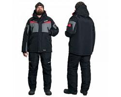 Костюм зимний Alaskan Dakota серый/черный     XS (куртка+полукомбинезон)