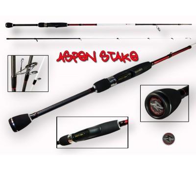 Спиннинг Crazy Fish ASPEN STAKE тест 5-21гр 2.40м