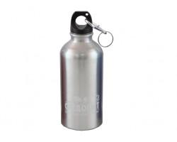 """Бутылка питьевая """"СЛЕДОПЫТ"""", алюм., с карабином, 400 мл/PF-BD-A400"""