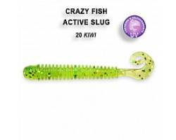 "Силиконовая приманка Crazy Fish ACTIVE SLUG 2"" 29-50-20-6"