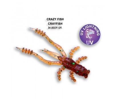 Силиконовая приманка Crazy Fish CRAYFISH 26-45-34-6