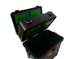 Ящик зимний ТРИ КИТА зеленый