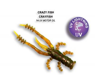 Силиконовая приманка Crazy Fish CRAYFISH 26-45-14-6