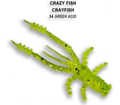 Силиконовая приманка Crazy Fish CRAYFISH 26-45-54-6