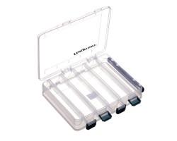 Коробка пластиковая двусторонняя 20.6х17.0х4.2см