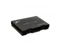 Коробка для блесен Flagman Areata Spoon Case Black 200x140x35мм
