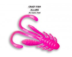 "Силиконовая приманка Crazy Fish ALLURE 1,6"" 23-40-76-6"