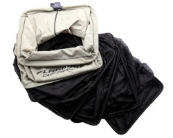 Садок прямоугольный NEW 50x40cm black DOUBLE thick nylon mesh 3.0m