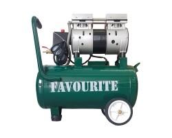 Поршневой безмасляный компрессор, 220 В/50 Гц, 1,6 кВт, 24 л, 160 л/мин