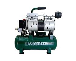 Поршневой безмасляный компрессор 1,1кВт, 10л, 120л/мин, FAVOURITE