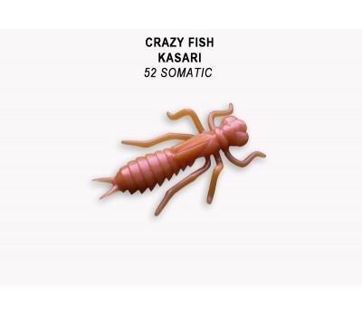 """Силиконовая приманка Crazy Fish KASARI 1"""" 52-27-52-7"""