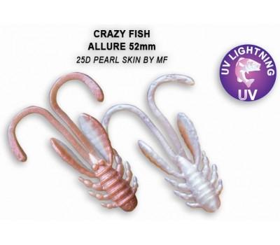 """Силиконовая приманка Crazy Fish ALLURE 2"""" 47-52-25d-6"""