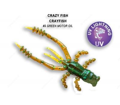 Силиконовая приманка Crazy Fish CRAYFISH 26-45-45-6