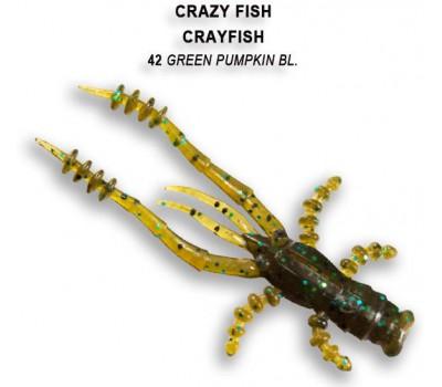 Силиконовая приманка Crazy Fish CRAYFISH 26-45-42-6