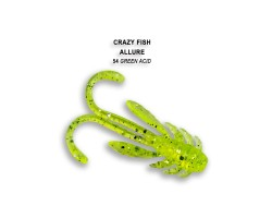 Силиконовая приманка Crazy Fish ALLURE 1,6  23-40-54-6