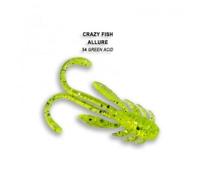 Силиконовая приманка Crazy Fish ALLURE 1,6  23-40-54-6