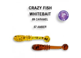 Силиконовая приманка Crazy Fish WHITEBAIT 16-20-9-6 16-20-57-6