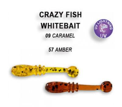 Силиконовая приманка Crazy Fish WHITEBAIT 16-20-9-6 16-20-57-6