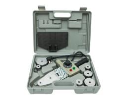 Аппарат для ручной раструбной(муфтовой) сварки пластиковых труб 1500 Вт., 220-230В/50Гц., 20.25.32.40.50.63мм., 6 насадки