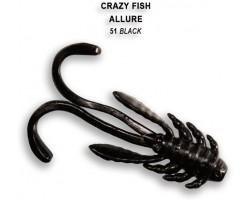 Силиконовая приманка Crazy Fish ALLURE 1,6  23-40-51-6