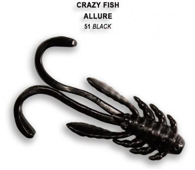 """Силиконовая приманка Crazy Fish ALLURE 2"""" 47-52-51-6"""