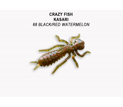 "Силиконовая приманка Crazy Fish KASARI 1,6"" 51-40-68-7-F"