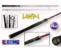 Спиннинг Crazy Fish LEVIN тест 0.6-5гр 1.9м