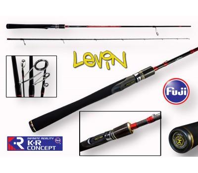 Спиннинг Crazy Fish LEVIN тест 7-28гр 2.2м