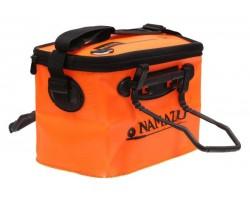 Сумка-кан Namazu склад. с 2 ручками, р. 34*22*21, материал ПВХ, цвет оранж./N-BOX21