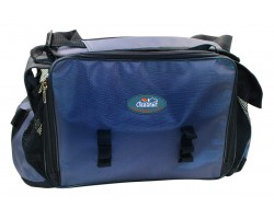 "Сумка рыболовная ""СЛЕДОПЫТ"" Lure Bag XL, 40х28х24 см, цв. синий + 5 коробок Luno 28"