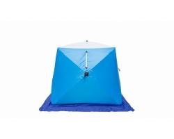 Палатка рыбака зимняя КУБ-2 LONG трехслойная дышащая Стэк