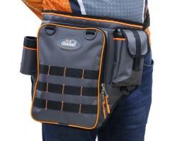 """Сумка рыб. """"СЛЕДОПЫТ"""" Fishing Shoulder Bag, 40х43х10 см, цв. серый/PF-BM-03"""