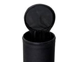 Тубус для удилищ Flagman круглый чёрный 11.0*130см