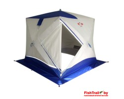 Палатка зимняя куб Пингвин Призма Премиум 2 слоя